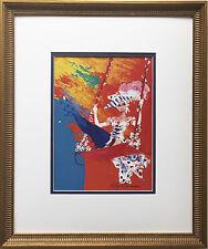 "LeRoy Neiman ""Copa Show Girl"" Newly CUSTOM FRAMED Print - Las Vegas Copacabana"