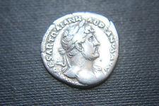 ANCIENT ROMAN HADRIAN SILVER DENARIUS COIN GALLEY 2nd CENTURY AD CAESAR