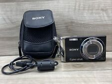 Sony Cyber-shot DSC-W370 14.1MP Digital Camera - Black
