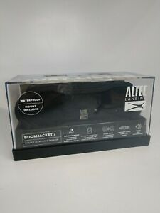 Altec Lansing BOOMJACKET 2 RUGGED BLACK Mount Included AS PIC SEE DESC FREE SHIP