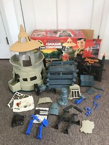 Rare KENNER Jurassic Park Electronic Command Compound 1993 Complete - Works!