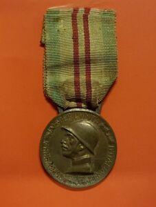 ITALY 1915 1918 WWI WAR MEDAL UNIFICATION ORIGINAL ORDER + RIBBON Condecoración