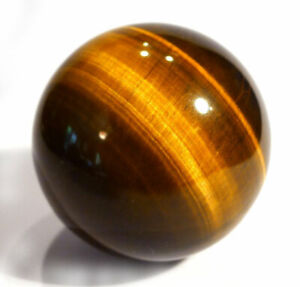 Healing Crystal Orb Tigers Eye Stone Crystal Ball 60mm Crystal Sphere.