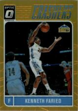 2016-17 Donruss Optic Crashers Gold #14 Kenneth Faried /10