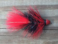 Fly Fishing Flies (Bass, Trout, Salmon) Conehead Lightning Bugger Nightmare (6)