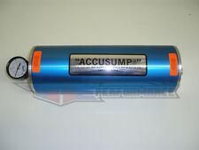 """Canton 2 Quart QT Accusump Engine Oil Accumulator Aluminum Blue Two 12"""" x 4.25"""""""