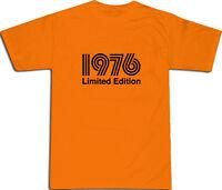 1976 Limited Edition Cool T-SHIRT S-XXL # Orange