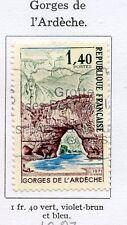 STAMP / TIMBRE FRANCE OBLITERE N° 1687 GORGES DE L'ARDECHE