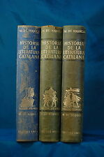 Historia De La Literatura Catalana 3 volumes M. De Riquer Edicions Ariel 1964
