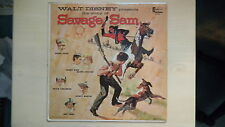 Disneyland Records Walt Disney presents the Story of SAVAGE SAM LP 1963