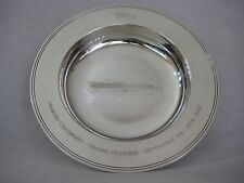Garrard & Co Silverplate, P&O, Naming Ceremony Grand Princess 1998 Dish Bowl