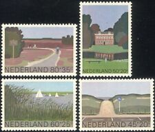 Netherlands 1980 Welfare Fund/Culture/Cycling/Buildings/Sailing 4v set (n30888)