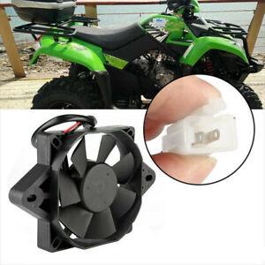 Black Motorcycle ATV Oil Cooler Electric Engine Cooling Fan Engine Radiator