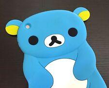 For Apple iPad Mini 1/2/3 Gen - SOFT RUBBER SILICONE SKIN CASE COVER BLUE BEAR