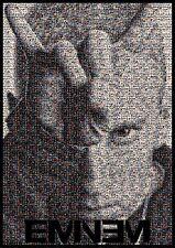 EMINEM Poster Large A1 Slim Shady Marshall Mathers Mosaic REVIVAL Album