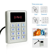 New Waterproof Access Control keypad Standalone Metal Card Reader for Outdoor