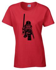 Lego Darth Vader Mujer S-2XL Star Inspirado Wars Regalo Mujer Jedi Sith