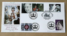 QUEEN 40TH ANNIVERSARY OF ACCESSION/ GOLDEN JUBILEE 1992/2002 BRADBURY COVER