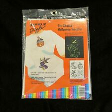 1989 Dizzler Pre Shaded Halloween Transfers Kitty Witch Ghost Pumpkin