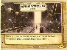 Star Wars Destiny - #160 Weapons Factory Alpha - Empire at War