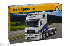 Italeri 3901 1/24 Scale Show Truck Model Kit Man F2000 6x4 3-Axle Tractor