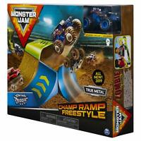 Monster Jam Champ Ramp Freestyle Playset Featuring Son-uva Digger Monster Truck