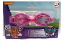 Paw Patrol Girls Swimming Goggles Kids Holiday Junior Summer Beach Pool 3+ PINK