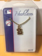 St. Louis Cardinals Gold tone necklace Mlb