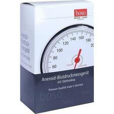 BOSO Egotest Blutdruckm.schwarz aneroid m.Steth. 1 St