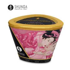 Candela da massaggio ai petali di Rosa Shunga Massage Candle rose petals 170 ml.