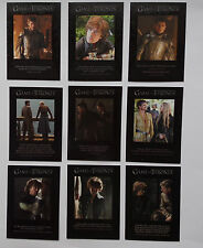 Game of Thrones Season 4 Quotable Game of Thrones chase set
