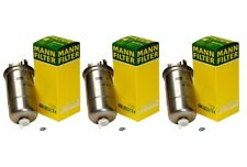 NEW Set of 3 Fuel Filters Mann for VW Passat Beetle Golf Jetta L4 Diesel
