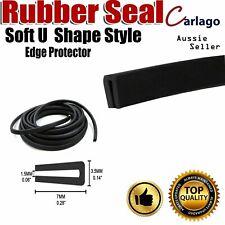 No Glue Rubber Seal Trim Strip Hatch Auto Door Metal Sharp Edge Protector 6.5M