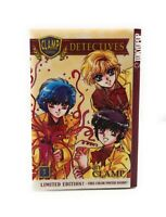 Clamp School Detectives Manga Vol. 3 Limited Edition TokyoPop English W Poster