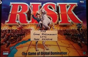 Risk 1998 Game Replacement Pieces Infantry Cavalry Artillery Lots Free Shipping