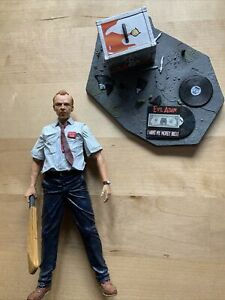 """Shaun Of The Dead NECA 2006 7"""" Reel Toys Cult Classics Series 4 Figure NwUnboxed"""