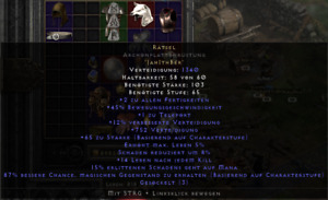 Enigma / Rätsel Archon Plate AP 12ed Diablo 2 Resurrected SC EU (Only PC)