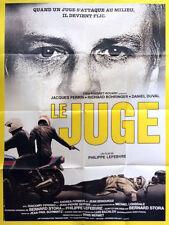 Affiche 120x160cm LE JUGE (1984) Jacques Perrin, Daniel Duval, Bohringer TBE