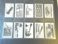 1938 Gerard MODERN ARMAMENTS military set of 50 cards Tobacco Cigarette card