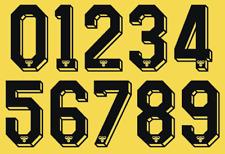 Tottenham Hotspur Hummel Felt Football Shirt Soccer Numbers Heat Home Away Navy