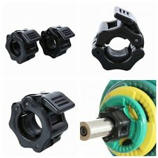 Men Weightlifting Clamps Weight Locking Collar Clamp Gym Equipment Accessory New