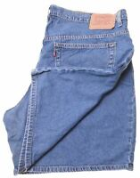 LEVI'S Womens Denim Shorts W40 Blue Cotton  CT01