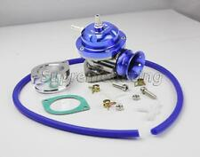 TYPE RS BLUE TURBO CHARGER BOV BLOW OFF VALVE+GASKET+ADAPTER+HOSE