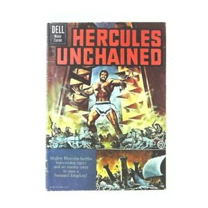 Hercules Unchained #1 in Very Good condition. Dell comics [*q3]