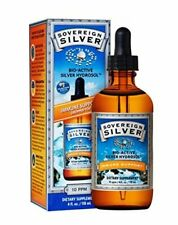 Sovereign Silver Bio-Active Silver Hydrosol for Immune Support - 10 ppm - 4oz