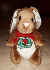 Vintage The Velveteen Rabbit Plush 1985 Rabbit Ear Productions Christmas Holiday