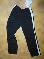 NEW Dance  PANTS SPORTSTRIPE long sleeve BLACK w/ white stripe child small