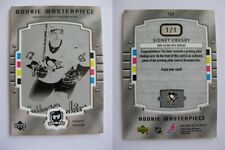 2005-06 UD The CUP #101 Sidney Crosby 1/1 plate RC beehive rookie 1 of 1 GISI