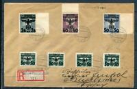 Germany Occ Poland General Government 1940 Register Cover Cv 250 euro 4083