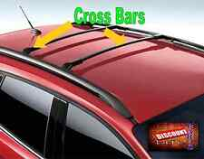 2015 2016 2017 Escape Genuine Ford Black Roof Rack Cross Bar Set of 2 carrier